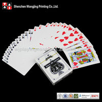 Personalized Poker Cards And Color Dice Set