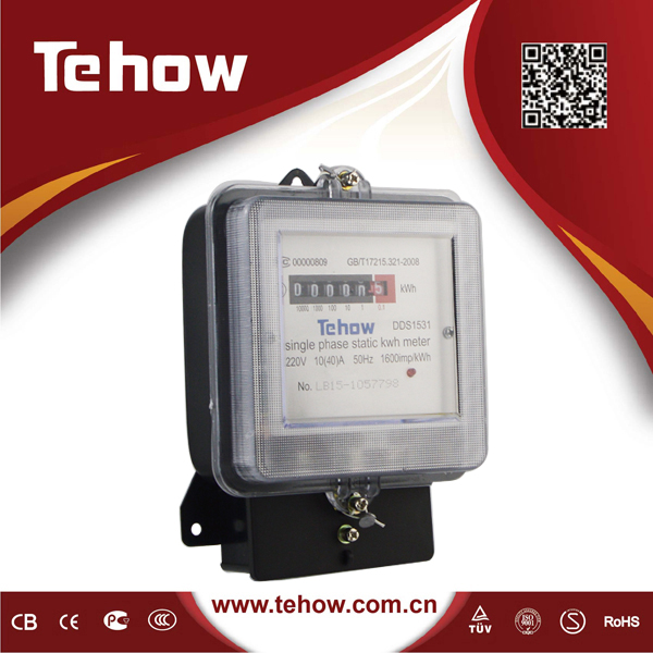 Good Quality Digital Display DDS1531 watt KWH meter