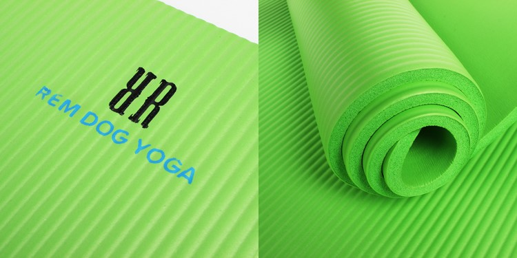 2017 High quality Eco - friendly NBR Yoga Mat for sale