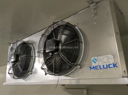 Evaporative air cooler for cooling room