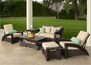 European style outdoor rattan sofa sets buy outdoor for Outdoor furniture europe