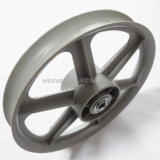 12x1.75 lawn mower wheel 12 inch plastic wheel