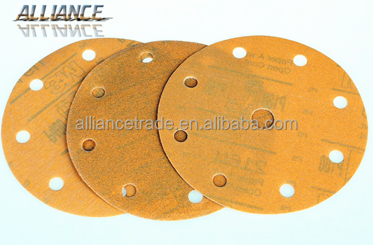 50mm Abrasive sanding gold disc