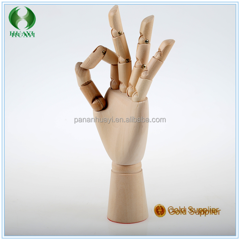 HOT SELLING 3D JOINET WOODEN HANDS MODEL 36cm Men