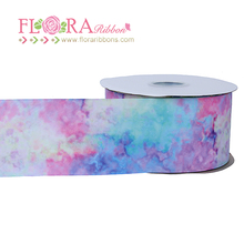 Ombre patterns 3 inch wedding decoration grosgrain ribbons