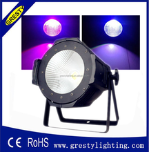 cob led par with barn doors/warm white cob led par lighting /cob led par can