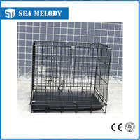 wholesale 2 doors wire pets dog kennel