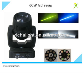 popular 60W led beam beam stage moving head