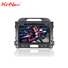 "KiriNavi WC-KS8044 android 7.1 8"" quad core car dvd play for kia sportage 2010-2014 car stereo gps multimedia system navigation"
