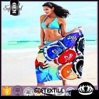 New design clearanc beach towel with low price