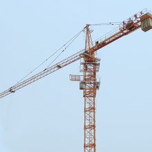 tower crane specification, double slewing motor 5t max load