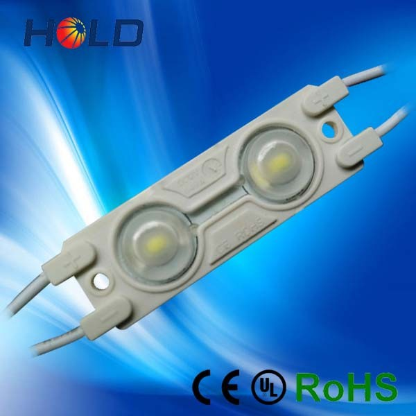 high quality injection waterproof 160degree 2 led 5630 led module with lens