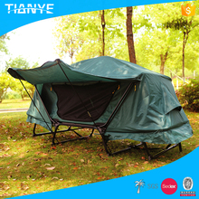popular outdoor used portable folding permanent waterproof camping tube hanging tent
