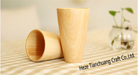 Japanese Style Wooden cup Wood Coffee Cup Handmade Wood Cup
