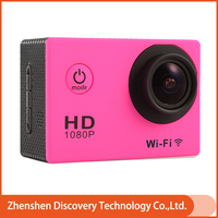 Factory Direct W9C 2.0 inch Screen 12MP WIFI Build In 170 Degree Wide-angle Len 30M Waterproof Mini Motorcycle Camera