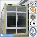 Glass Panel Container House