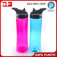 750ml best selling custom logo single wall wide mouth water bottle bpa free tritan plastic drinking bottle