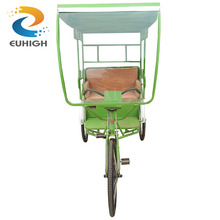 China supplier cheap price pedal rickshaw passenger tricycle