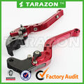 Alloy Aluminium VFR 800 CNC Billet Adjustable folded motorcycle brake & clutch levers