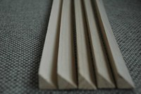 Construction elements corner fillets triangle wood timber/ gussets wood/ chamfer strips