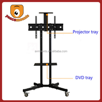 "For TVs up to 32""-70"" screen movable and free standing flat screen iron tv stand"