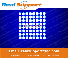 LED Dot Matrix Display 8x8 1.9mm Blue Common Anode LED display 788BB