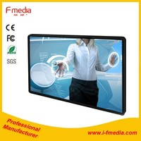 60 inch touch screen smart tv interactive whiteboard with all-in-one pc
