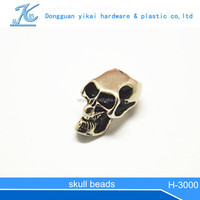 Fashion Diy Skull Beads For Jewelry paracord bracelet with skull bead fashion scarf metal beads