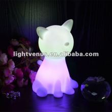 BSCI certified manufactuer led color changing night light soft toy