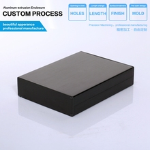 YGW-014 114*33-150mm housing DIY aluminium box for electronic porject instrument PCB shell power amplifer aluminum enclosure