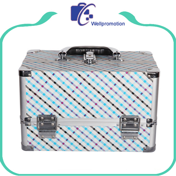 Professional beauty box makeup aluminum vanity case