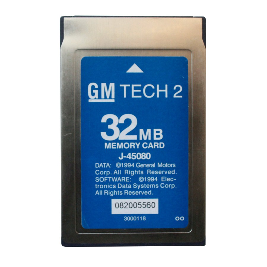 Free Shipping For GM Tech2 Card With 6 Software 32MB Card For GM Tech2 Diagnostic Tool For GM Tech 2 32MB Memory Card