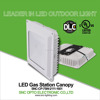 DLC UL listed 75w petrol station light gas station canopy lighting 75w parking garage light