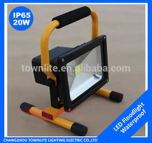 led stadium lighting 20w portable led rechargeable work light
