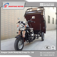 High quality trike motorcycle cheap van cargo tricycle for sale