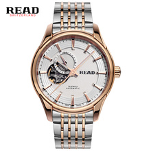 Read 8082 Tops Brand Automatic Men Watches Luxury Minimalist Black Steel Men Watch Japan Movement Full Relogio of Week and Date
