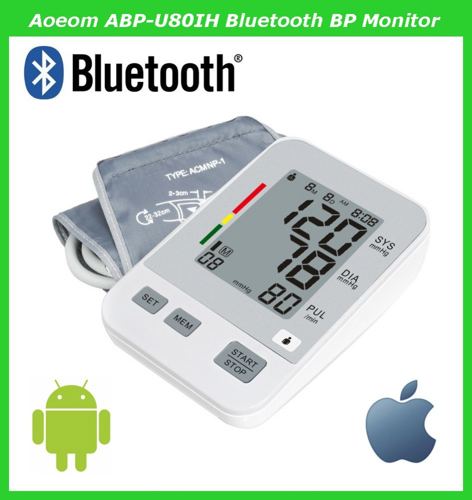 Medical Devices 4.0 Best Bluetooth Blood Pressure Monitor IOS and Android Manufacturers Shenzhen