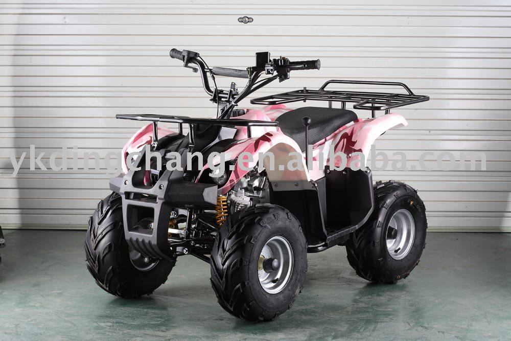 125cc atv with three forward and one reverse gear
