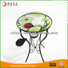 Garden Decoration Glass Table Shaped Led