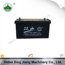 Hebei High Quality 6-QW-120MF Car Battery For Shunagshan