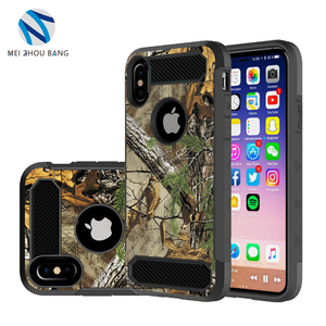 New Design phone case for Apple iphone 8 PC+silicone Painted hard Wearable cover case for iphone 8