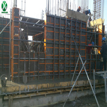 Newly Designed Steel Frame Formwork for Casting Concrete wall