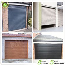Direct factory price electric roller shutter garage door different colors