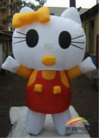 Inflatable high quality chef cartoon,,inflatable advertising cat cartoon