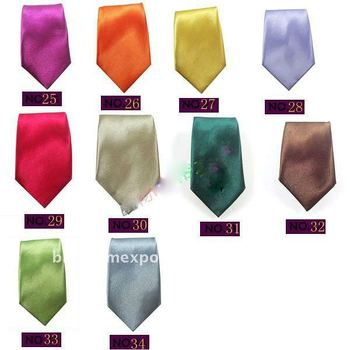 fashion child soild printed tie