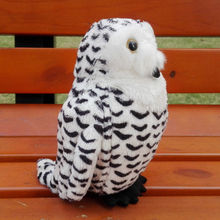 The snowy owl Arctic snow Eagle Owl plush toy doll