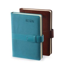 a5 notebook loose leaf filofax diary pu cover