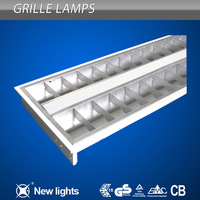 T5 Louver Fixture Grid lamp Fittings 2*28W