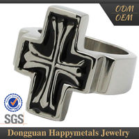 Best Price Stainless Steel Catholic Rosary Finger Ring With Sgs Certification