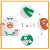 Kids summer fashion 100%cotton Knitted 2014 new design fashion baby dress